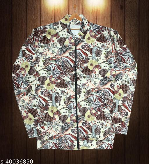 Cream Jacket For Men