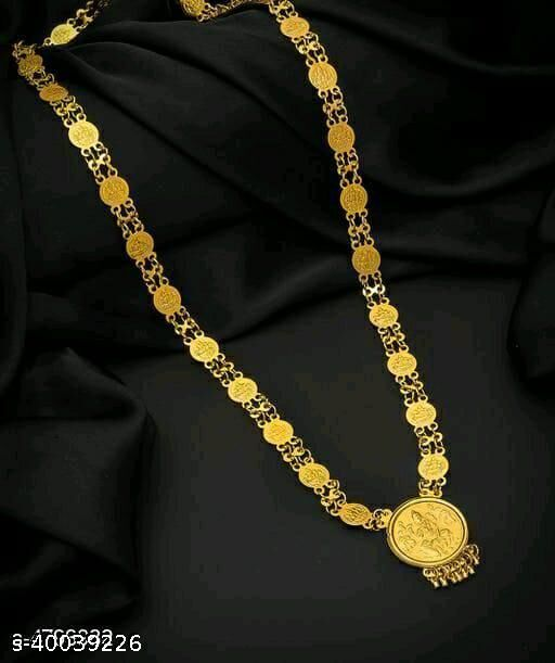 Laxmi Coin Chain Necklace For Women Jewelry