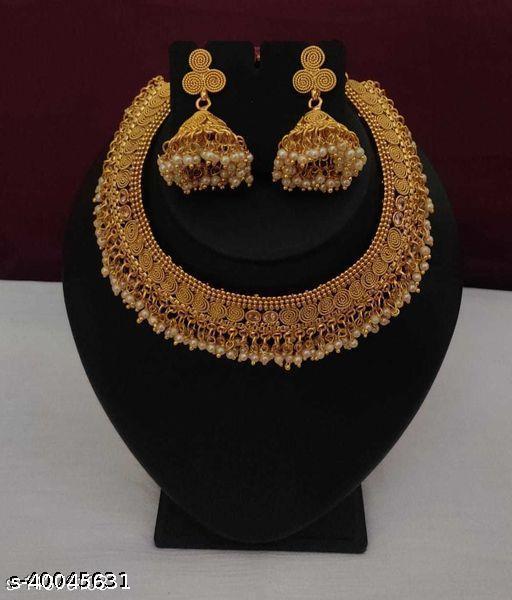 Trendy alloy Jewellery set