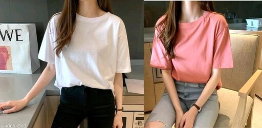 Trendy Latest Women Tshirts
