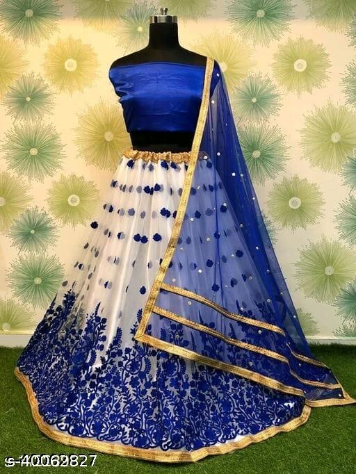 Trendy Royal Blue lehenga