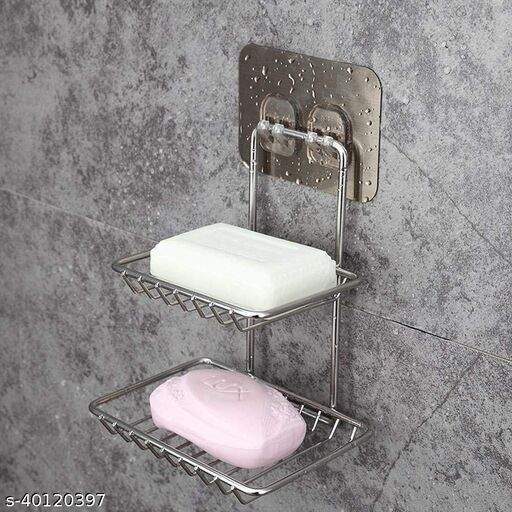 ARRIVAL MART SOAP DISH RACK PACK OF 2