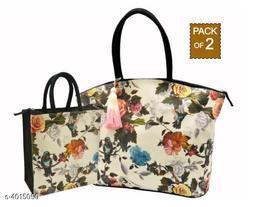 Stylish Canvas Handbags Combo
