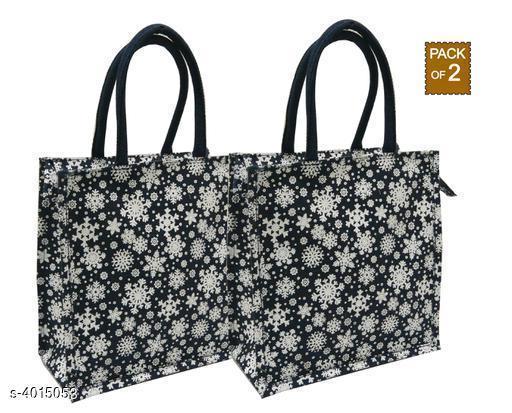 Beautiful Women's Combo Black Jute Handbag