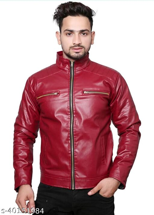 Urbane Glamorous Men Jackets