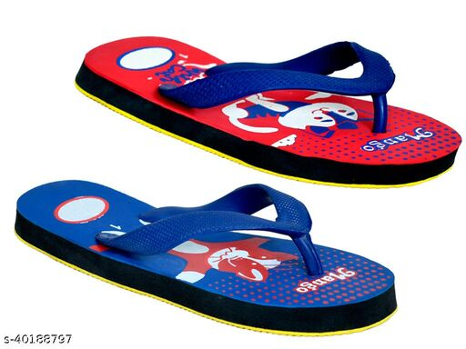 Combo Unique Attractive Light Weight Slippers (Set Of 2 Pair)