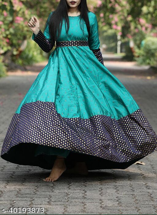 Arresting Black colored Beautifull Embrodiery Floor Touch Gown