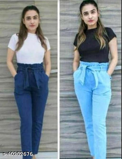 Pretty Feminine Women Women Trousers