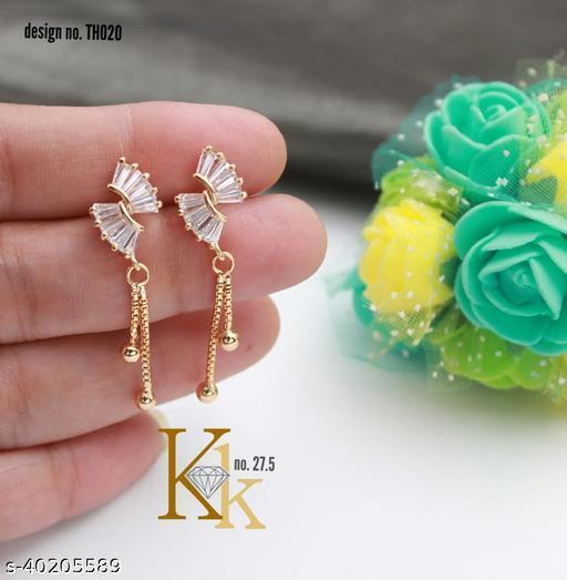 AD Studded Fancy Earring