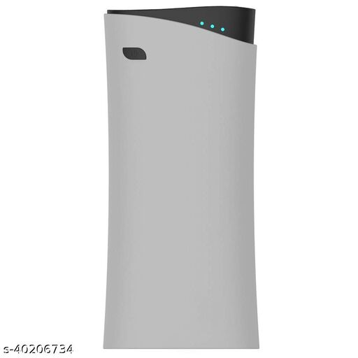 13,000 mAh Power Bank With 2.1A Fast Charging Support Dual Port Grey