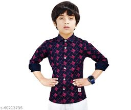 Made In The Shade 100% Cotton Boy's Shirt