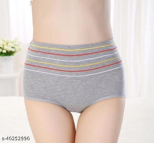 Women Hipster Grey Hosiery Panty