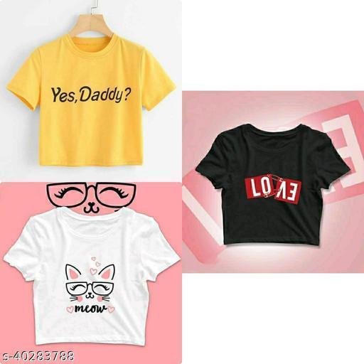 Fancy Feminine Women Tshirts
