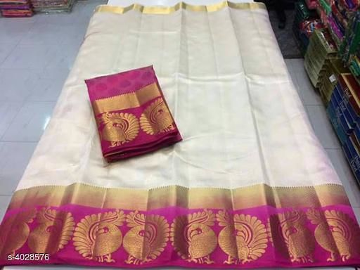 Trendy Stylish Tussar Silk Women's Sarees