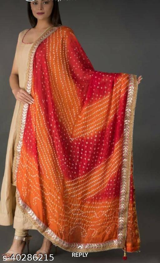 Silk lahariya style dupatta ritu7