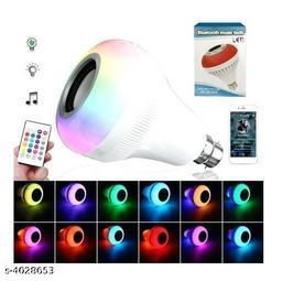 BTK Trade Music Bulb Bluetooth Speaker (White)