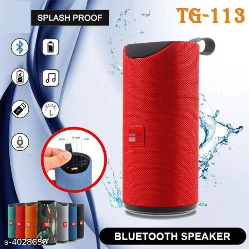 BTK Trade TG-113 Bluetooth Speaker (Assorted)