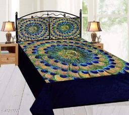 Versatile Velvet Double Bedsheet