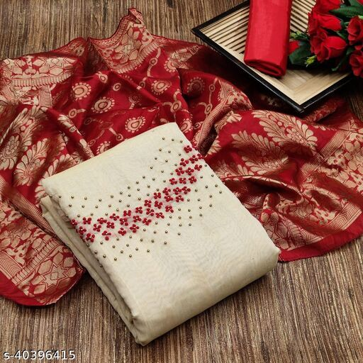 Aagam Graceful Semi-Stitched Suits