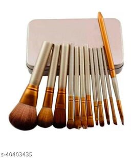 Makeup Brush Set Of 12