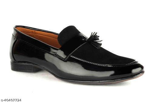 Men's Black Loafer Shoes
