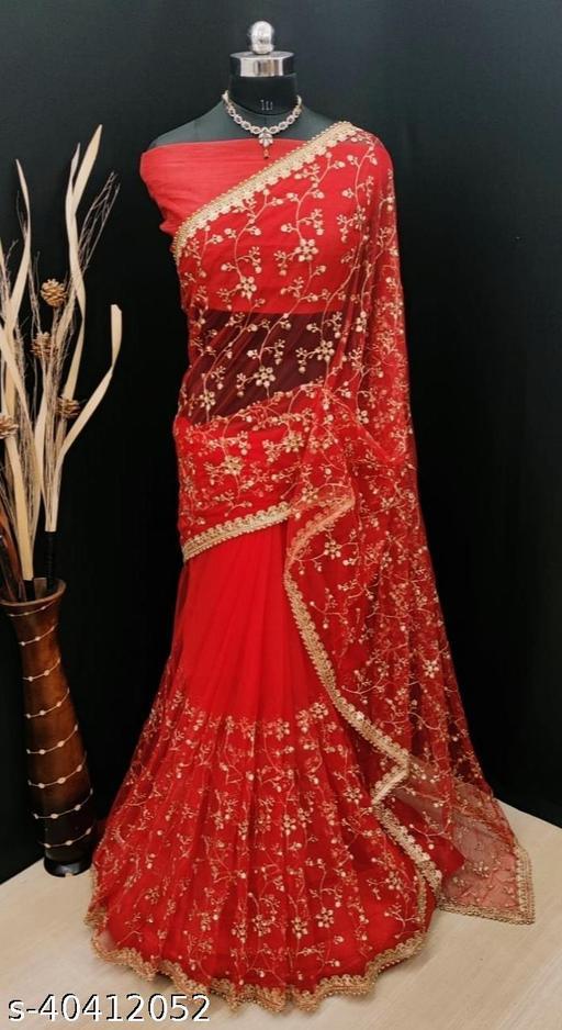 Net Sarees Partywear