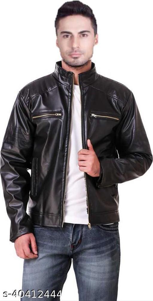 DMTE Full Sleeve Solid Men Jacket