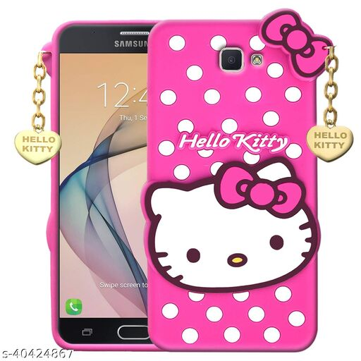 Shinecastle india Back Cover For Samsung Galaxy J7 Max(3D Case Pink)