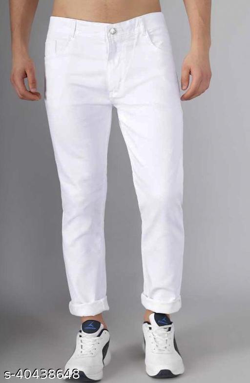 Vaasu White Cotton pant