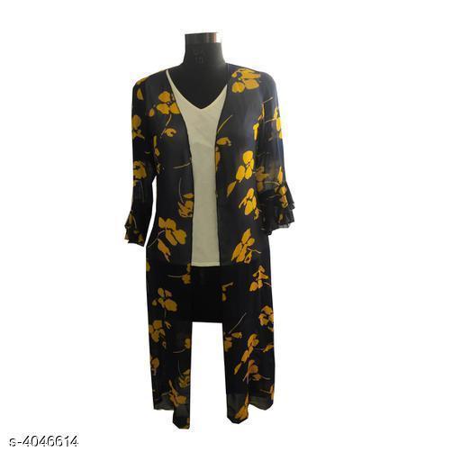 Trendy Polyester Georgette Women Shrugs