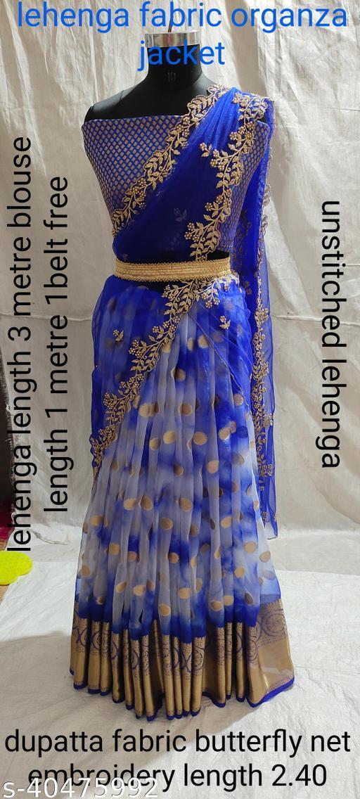 Trendy Designer Embriodery Work Lehenga Choli
