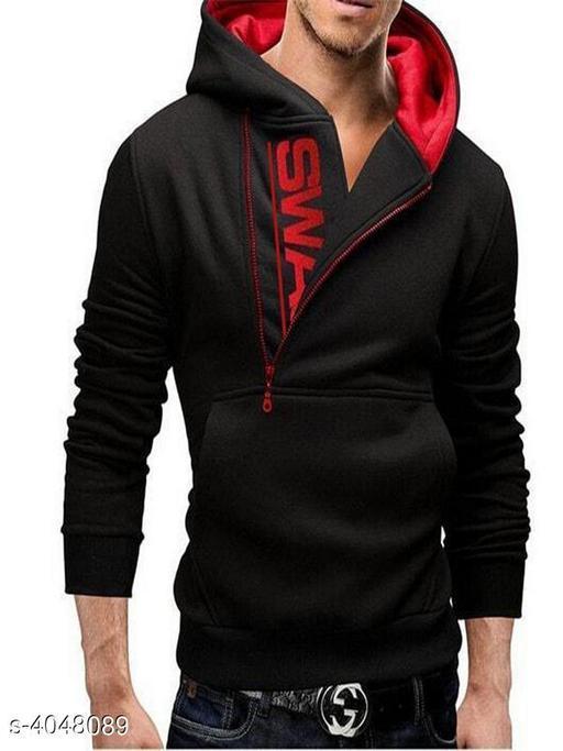 Trendy Polyester Men's  Sweatshirt