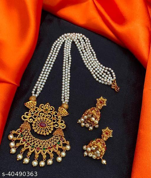 Feminine Chunky Jewellery Sets