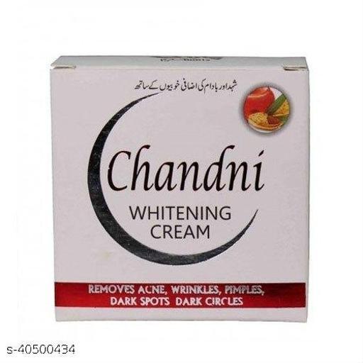 Chandni Whitening Cream 100% Original (pack of 1)