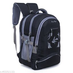 Large 40 L Laptop Backpack for Men and Women (Unisex), Travel, College, School bags (Black)
