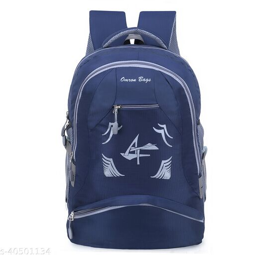 Large 40 L Laptop Backpack for Men and Women (Unisex), Travel, College, School bags (Blue)
