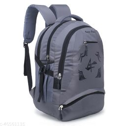 Large 40 L Laptop Backpack for Men and Women (Unisex), Travel, College, School bags (Grey)