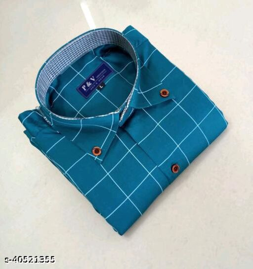 Mens Checkered Shirt
