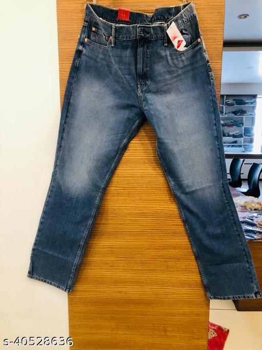 Blue color jeans for men
