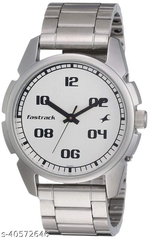 Stainless Steam Watch for men