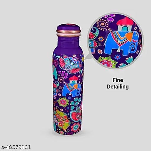 Handmade design bottle make in india 1000ml,pack of 1