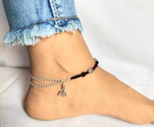 Shimmering Glittering Women Anklets & Toe Rings