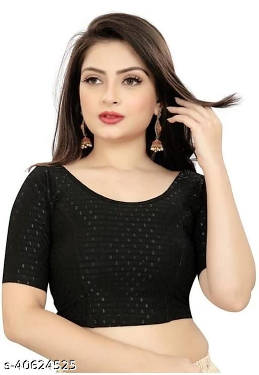 Cotton butti stretchable blouse