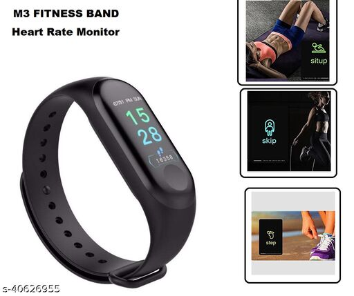 M3 Activity Tracker Blood Pressure Smart Band Watch Sport Fitness Band Fitness Band