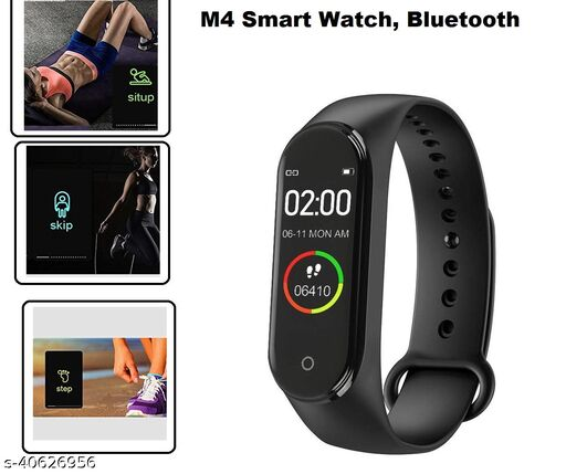 M4 Activity Tracker Blood Pressure Smart Band Watch Sport Fitness Band Fitness Band