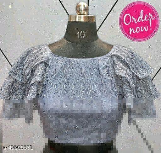 Net Fabric Fancy Blouse