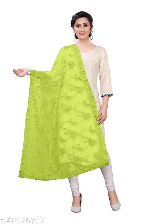 Beautiful Women Dupattas Net Fabric