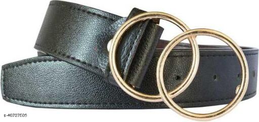 Stylish Double O Women's Belts