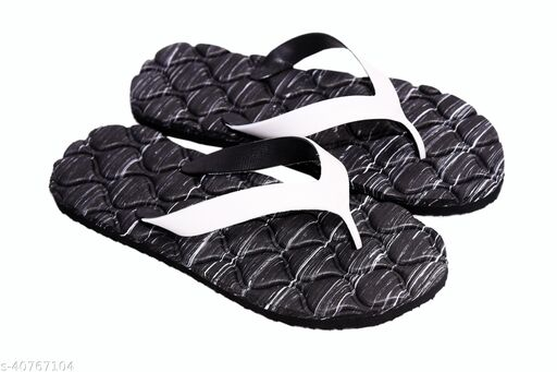 Men Black Extra soft Slipper