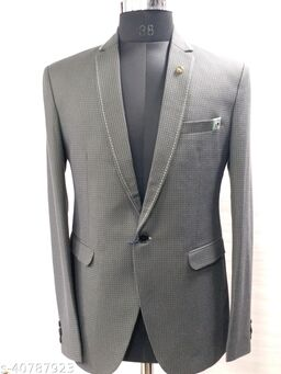 Urbane Fashionable Men Blazers